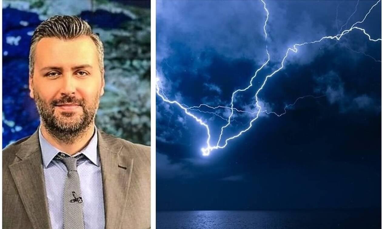 Καιρός - Προειδοποίηση Καλλιάνου: Προσοχή τις επόμενες ώρες – Έρχεται πολύ νερό στην Αττική