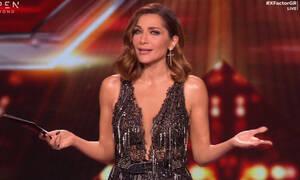 X Factor: Με φόρεμα-υπερπαραγωγή και διαφάνειες η Δέσποινα Βανδή (photos-video)
