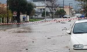Καιρός ΤΩΡΑ:«Πνίγηκε» η Θάσος! Καταστροφές και κλειστά σχολεία - Προβλήματα και σε Ροδόπη, Χαλκιδική