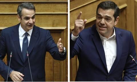 Χαμός στη Βουλή - Μητσοτάκης: Είσαι πάλι αδιάβαστος - Τσίπρας: Είσαι ψεύτης και δειλός
