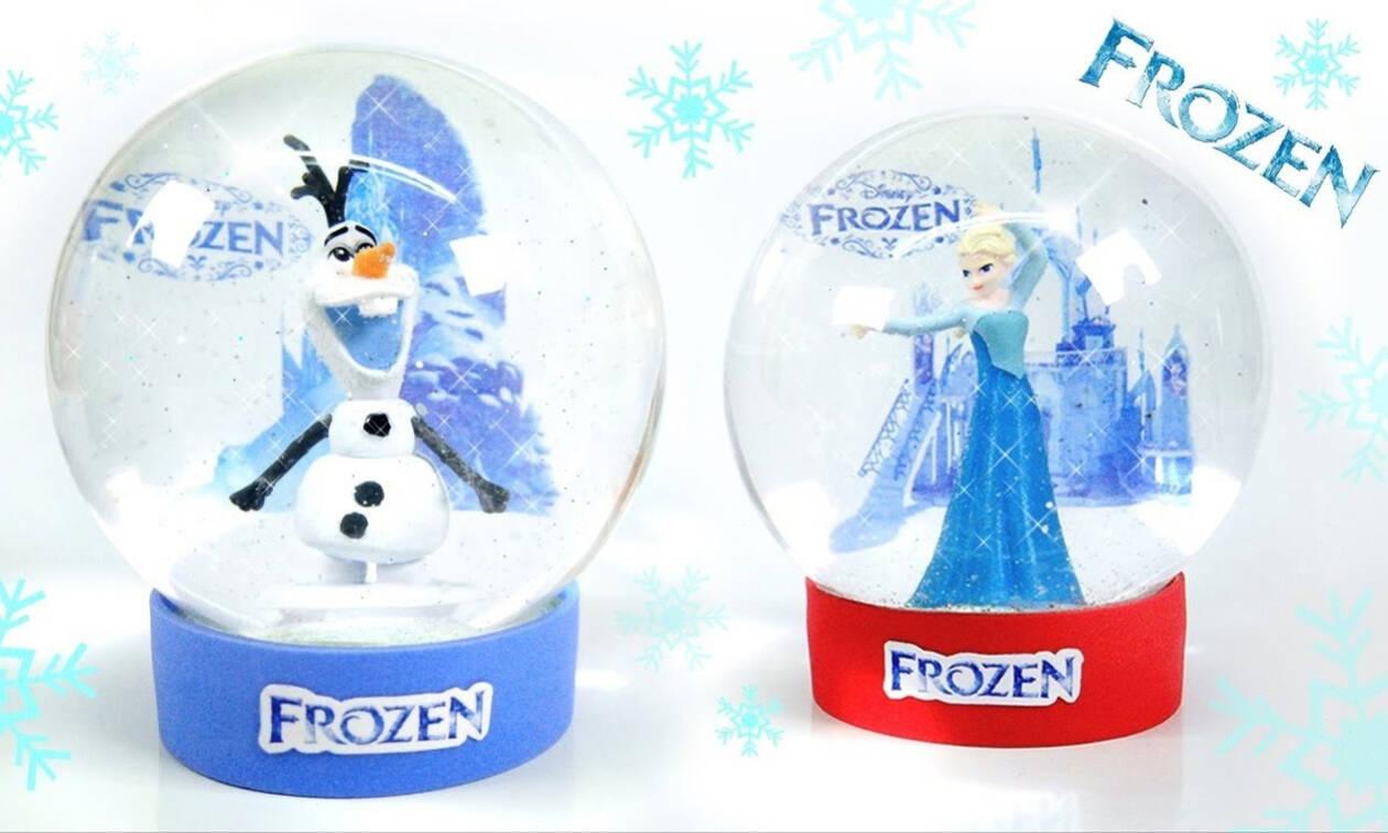 Έτσι θα φτιάξετε χριστουγεννιάτικες χιονόμπαλες (vid)