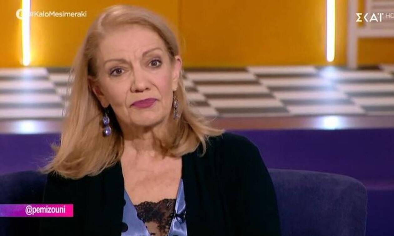 Συγκλονίζει η Πέμυ Ζούνη:«Είχα εγκλωβιστεί. Επέλεξα το λάθος. Δεν μπορώ να το πάρω πίσω, αυτό ήμουν»