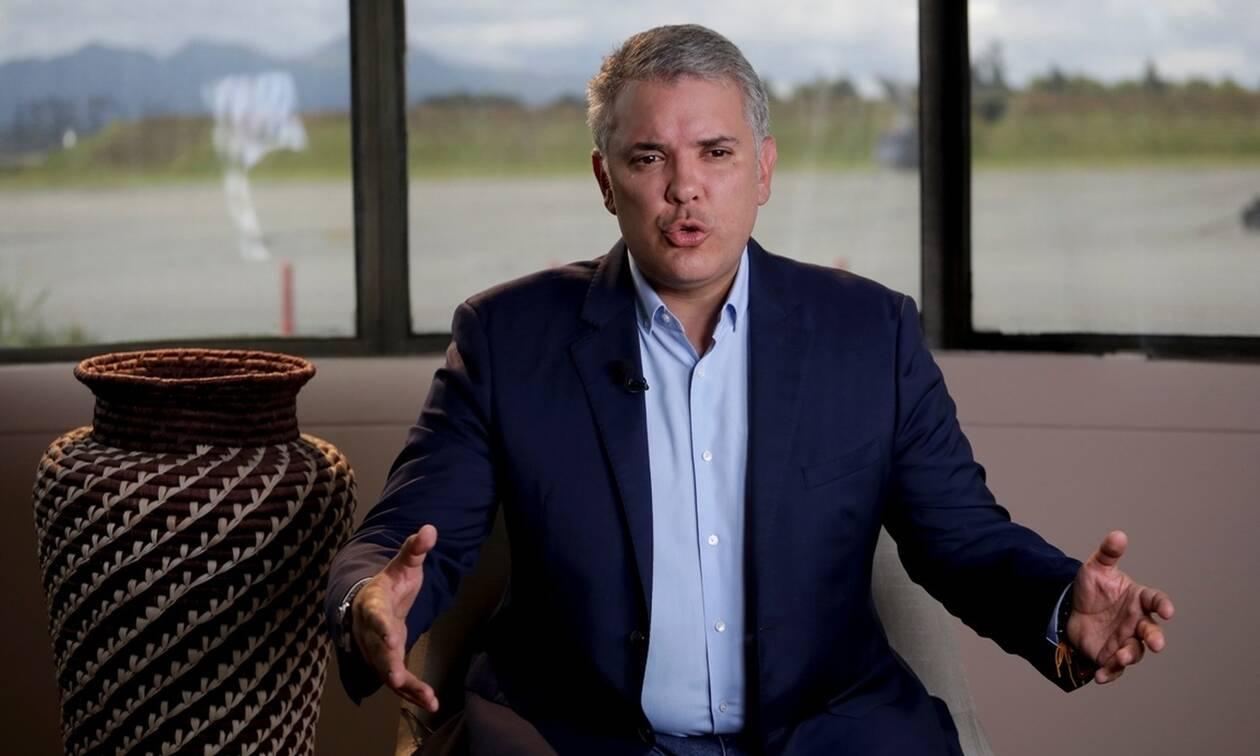 Κολομβία: Έκκληση για εθνικό διάλογο απευθύνει ο πρόεδρος Ντούκε