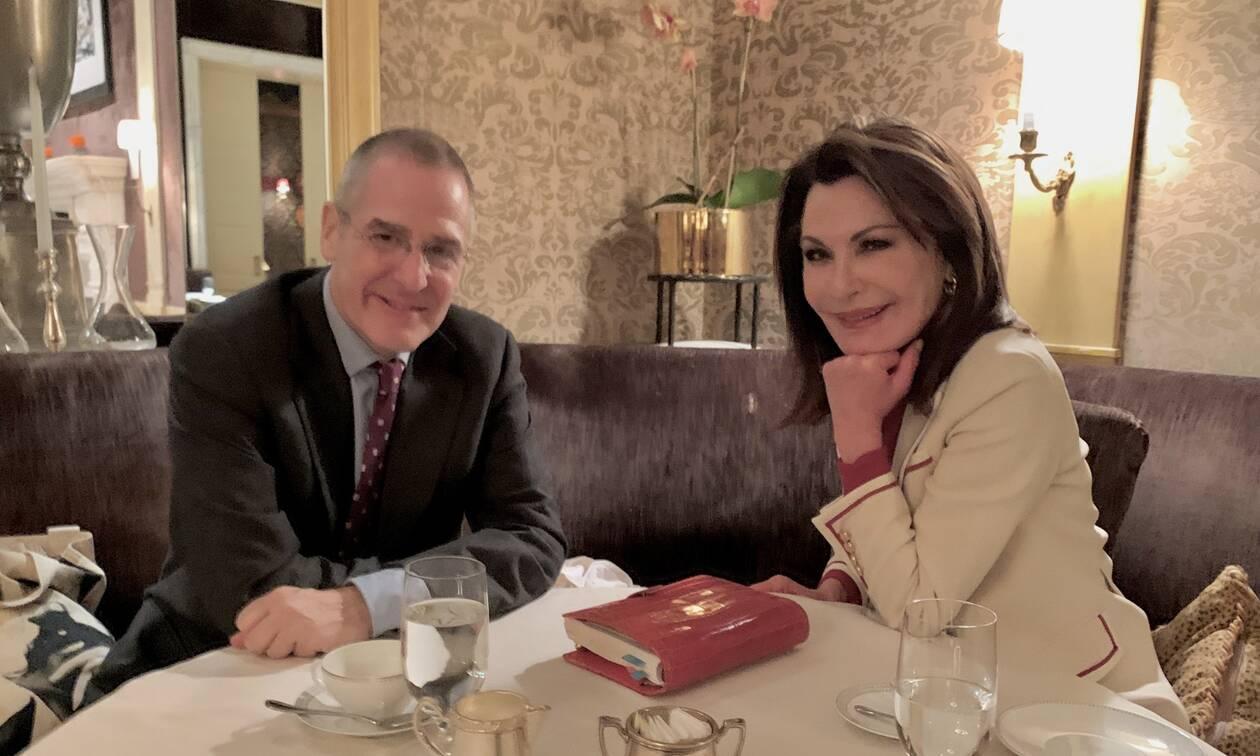 Στη Νέα Υόρκη η Γιάννα Αγγελοπούλου - «Ζυμώσεις» στο εξωτερικό για την Επιτροπή «Ελλάδα 2021»