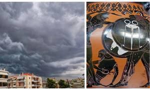 Γηρυόνης: Ποιος ήταν ο γίγαντας που «βάφτισε» το νέο κύμα κακοκαιρίας