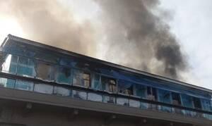 Χανιά: Καταστράφηκε ολοσχερώς καφετέρια από φωτιά