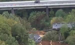 Κακοκαιρία: Κατέρρευσε γέφυρα στην Ιταλία – Απίστευτες εικόνες