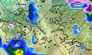 «Γηρυόνης»: Δείτε ΕΔΩ λεπτό προς λεπτό την πορεία της κακοκαιρίας - Πού βρίσκεται τώρα (ΧΑΡΤΕΣ)