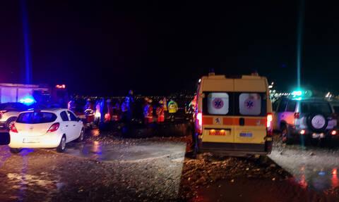 Κακοκαιρία «Γηρυόνης»: Αναποδογύρισε ιστιοφόρο στο Αντίρριο - Ένας νεκρός και ένας αγνοούμενος