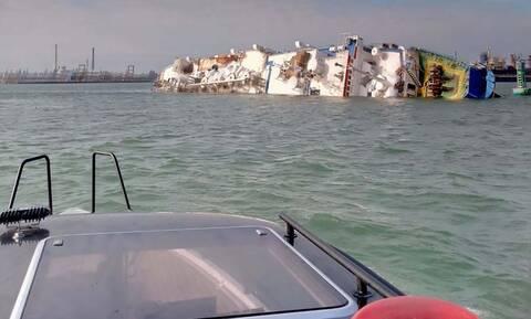 Μαύρη Θάλασσα: Επιχείρηση διάσωσης 14.600 προβάτων από πλοίο που έχει πάρει κλίση (pics)