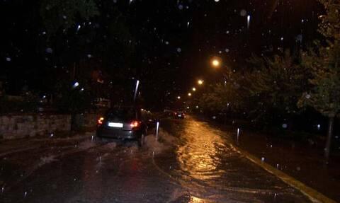 Κακοκαιρία «Γηρυόνης»: Κλειστή η εθνική οδός Αθηνών - Κορίνθου - «Πνίγηκαν» Κινέτα και Κατερίνη