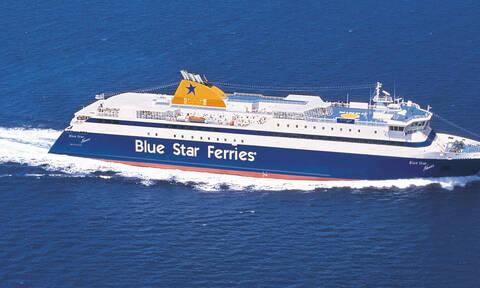 Εισροή υδάτων στο «Βlue Star Naxos»