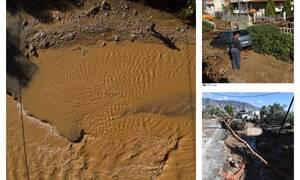 Εικόνες Βιβλικής καταστροφής: Η Κινέτα βυθισμένη στη λάσπη – Ανυπολόγιστες καταστροφές