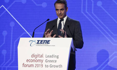 Μητσοτάκης: Ο ψηφιακός μετασχηματισμός της χώρας είναι προτεραιότητά μας