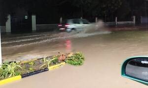 Κακοκαιρία: Κατέρρευσε η γέφυρα στο Χαράκι - Κρίσιμη η κατάσταση στη Ρόδο