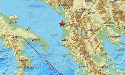 Αλβανία: Σεισμός κοντά στo Δυρράχιο - Αισθητός σε πολλές περιοχές (pics)