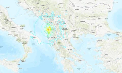 Ισχυρός σεισμός 6,4 Ρίχτερ στην Αλβανία - Αισθητός και στην Ελλάδα (pics)