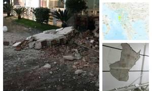Σεισμός Αλβανία: Τρόμος από τα 6,4 Ρίχτερ - 4 νεκροί - Κατέρρευσαν πολυκατοικίες (pics&vids)