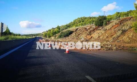 Κακοκαιρία: Κλειστοί δρόμοι σε Χαλκιδική και Ημαθία – Απίστευτη ταλαιπωρία για τους οδηγούς