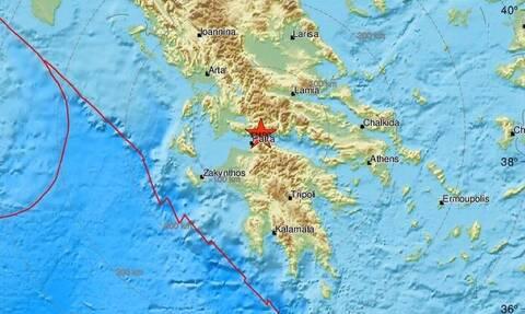 В Греции произошло землетрясение 4,6 балла