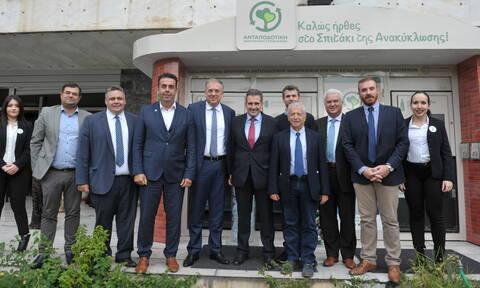 Ο υπουργός Εσωτερικών ανακοίνωσε το πρόγραμμα «Νέα Γενιά Ανακύκλωσης»