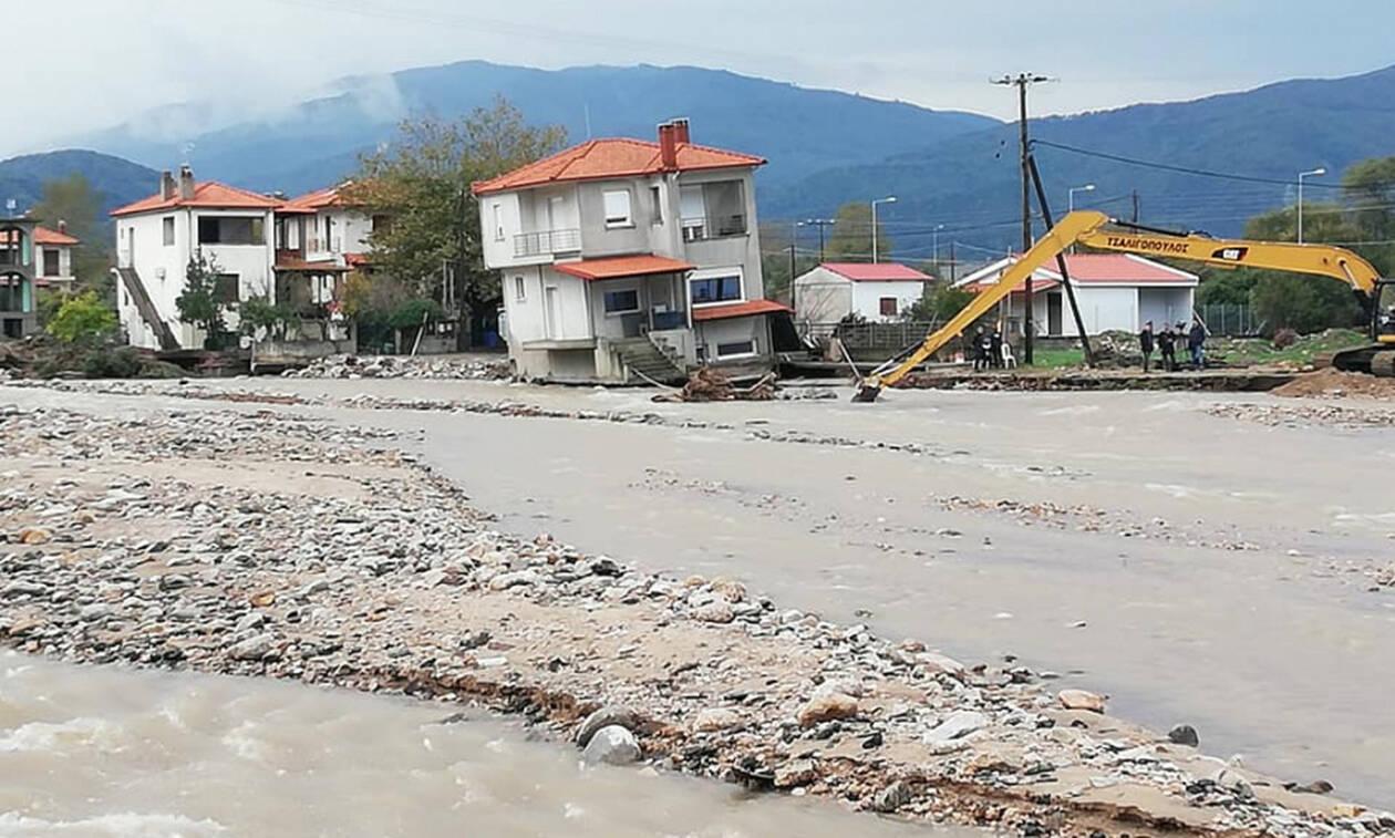 Κακοκαιρία «Γηρυόνης»: Σοβαρές ζημιές στην Ολυμπιάδα Χαλκιδικής λόγω βροχόπτωσης (pics)