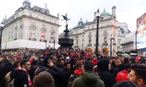Τότεναμ – Ολυμπιακός: «Ερυθρόλευκη»… κατάληψη στο Λονδίνο!