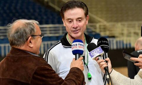 Ρικ Πιτίνο: «Μου έλειψε ο κόσμος του Παναθηναϊκού, παγίδα το ματς με Μπασκόνια»