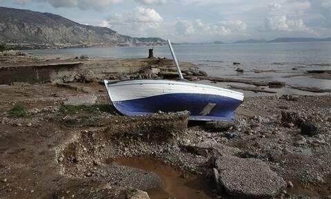 Κακοκαιρία «Γηρυόνης»: Καταστροφές, πλημμύρες, μεγάλα ύψη βροχής και πάνω από 11.000 κεραυνοί