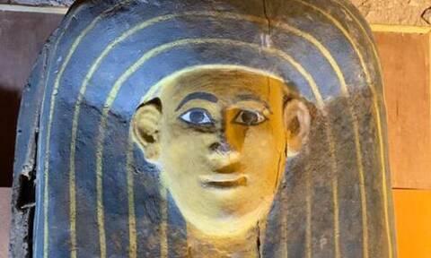 Σπουδαία ανακάλυψη στην Αίγυπτο: Στο φως αρχαία ξύλινα φέρετρα (pics)
