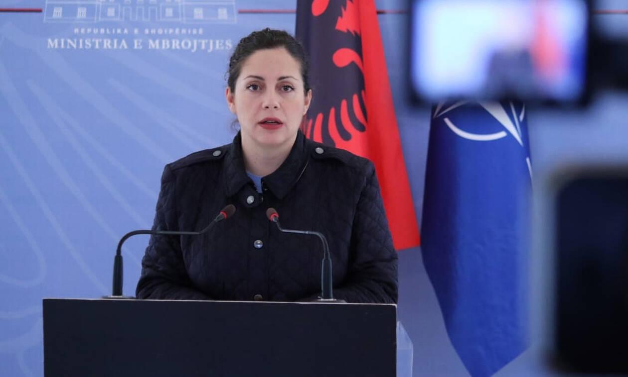 Σεισμός Αλβανία: Ξέσπασε σε κλάματα η υπουργός Άμυνας της Αλβανίας (βίντεο)