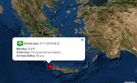 Άκης Τσελέντης: Η περιοχή μεταξύ Κυθήρων και Κρήτης μπορεί να δώσει σεισμούς και 7 ρίχτερ