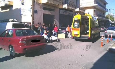 Χανιά: Τροχαίο με δύο τραυματίες