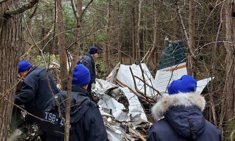 Καναδάς: Επτά νεκροί από τη συντριβή μικρού αεροσκάφους