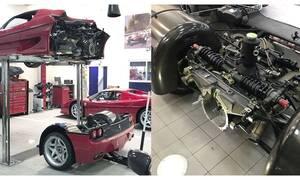 Για να επισκευάσεις μια Ferrari πρέπει να «ξηλώσεις» όλο το αυτοκίνητο