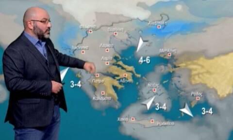 Καιρός: Έρχεται... χειμώνας και φέρνει χιόνια - Η ενημέρωση Αρναούτογλου