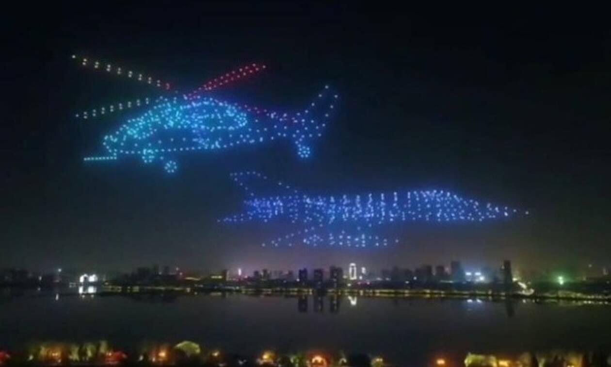 Ένα «αεροπλάνο - φάντασμα» στο νυχτερινό ουρανό