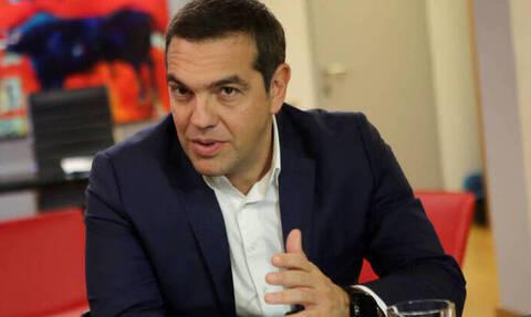Συνάντηση Αλέξη Τσίπρα με το Κίνημα Σοσιαλδημοκρατών ΕΔΕΚ της Κύπρου