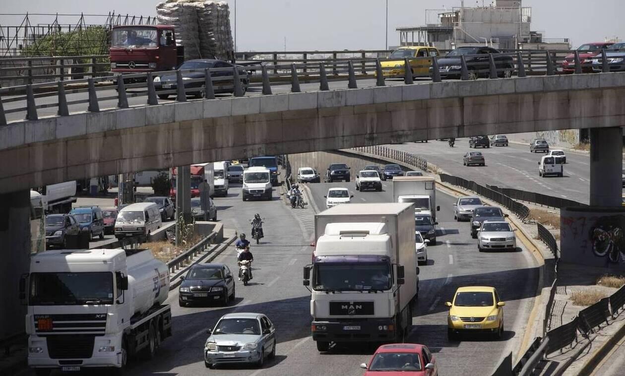 Τροχαίο στην Εθνική Οδό Αθηνών – Λαμίας – Μεγάλο μποτιλιάρισμα