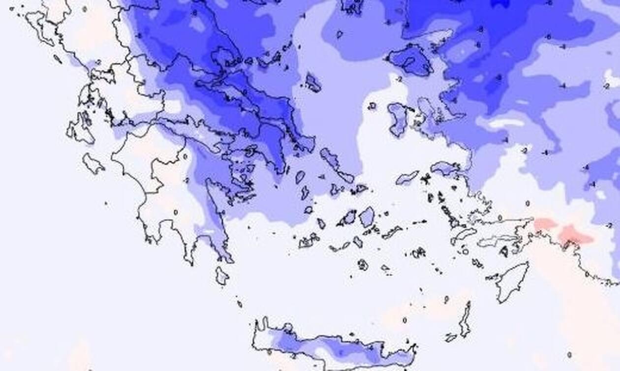 Αγριεύει ο καιρός: Κρύο, βροχές και χιόνια τις επόμενες ώρες - Πού θα χτυπήσει η κακοκαιρία (ΧΑΡΤΕΣ)