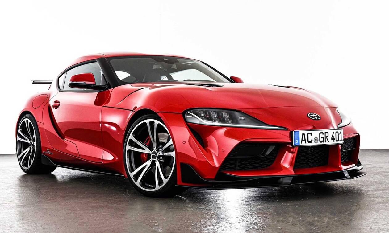Γιατί η AC Schnitzer που βελτιώνει BMW ασχολήθηκε με την Toyota Supra;
