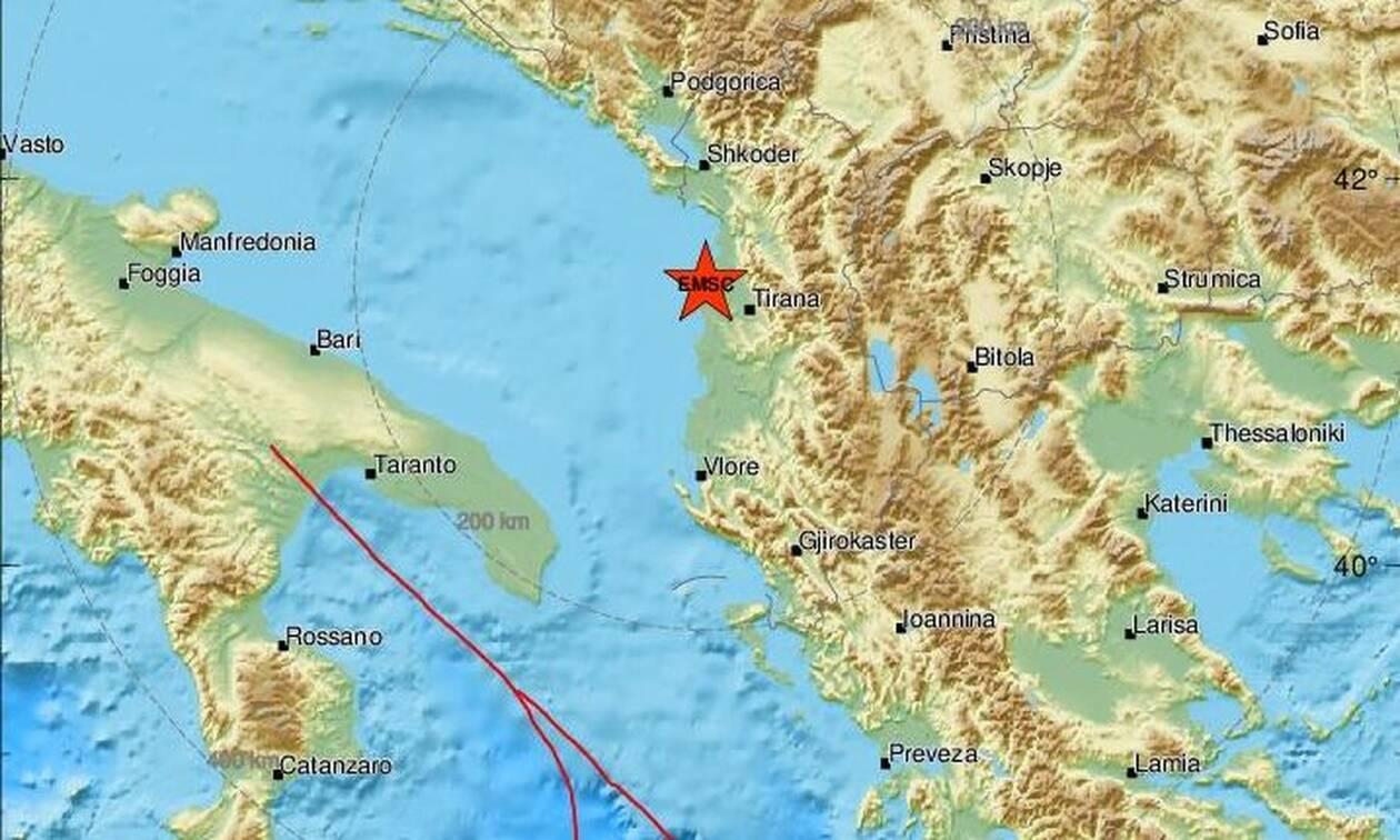 Σεισμός στην Αλβανία: Ακόμα μια δύσκολη νύχτα - Συνεχίζονται οι μετασεισμικές δονήσεις (pics)