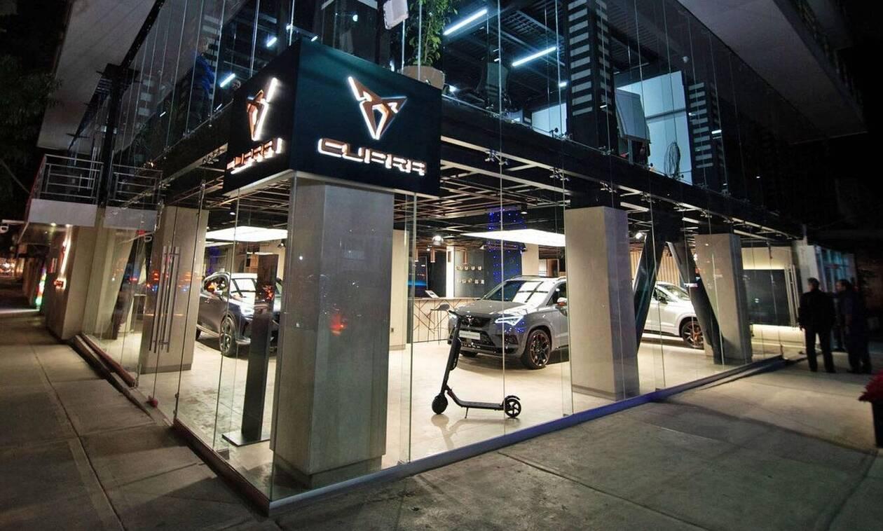 Σε αυτή τη χώρα η Cupra, η σπορ υπο- μάρκα της Seat, άνοιξε το πρώτο της κατάστημα