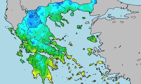 Στο «ψυγείο» η χώρα: Πού σημειώθηκαν οι χαμηλότερες θερμοκρασίες