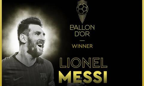 Χρυσή Μπάλα: Στα χέρια του Λιονέλ Μέσι (video+photo)