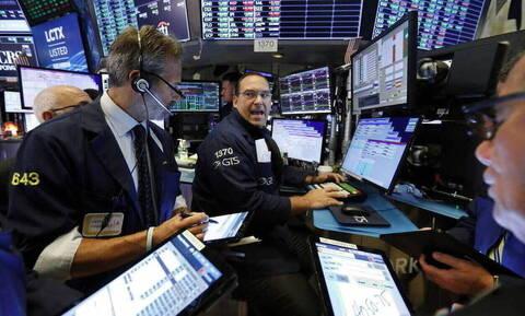 Σημαντική πτώση στη Wall Street - Άνοδος για το πετρέλαιο