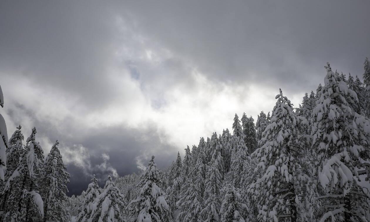 Καιρός τώρα: Χειμωνιάτικη η Τρίτη με πτώση της θερμοκρασίας και βροχές - Πού και πότε θα χιονίσει