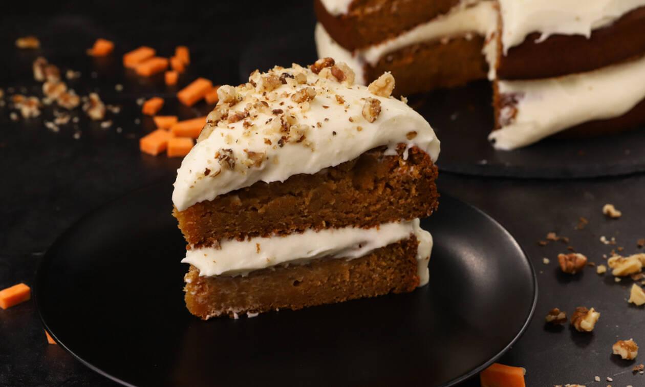 Συνταγή για πεντανόστιμο κέικ γλυκοπατάτας