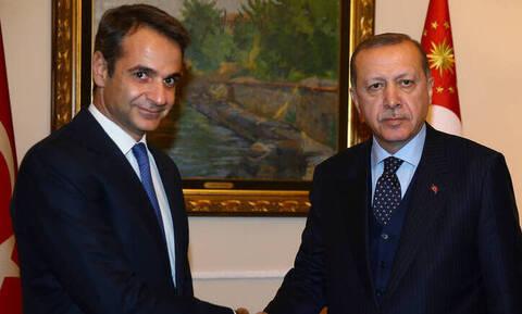 Mitsotakis to meet Erdogan on Wednesday in London