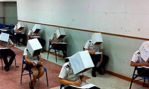 Έπος: Δες τι σκαρφίστηκαν οι καθηγητές για να μην αντιγράφουν οι μαθητές!